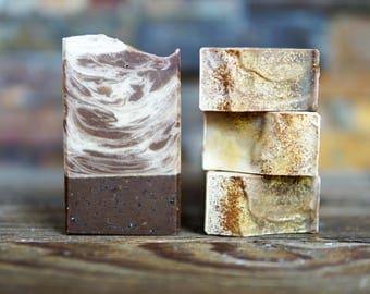 Cinnamon Coffee Soap - Cinnamon Soap - Palm Free Soap - Handmade Soap - Vegan Soap - Homemade Soap