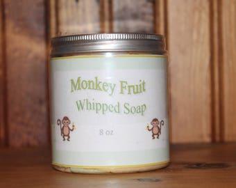 Monkey Fruit Whipped Soap