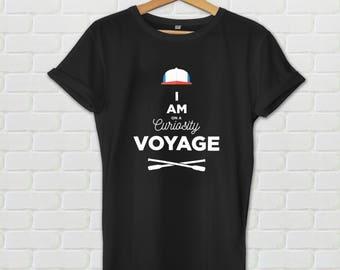 I Am On A Curiosity Voyage shirt - Stranger Things shirt, Stranger Things tee, Dustin shirt, Dustin tshirt, the upside down, netflix, hawkin