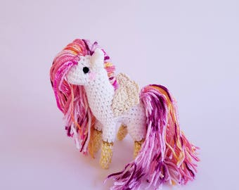 Miniature Animal Doll | #TinyHoof: Passionfruit the Pegasus