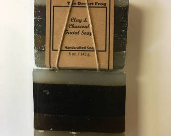 Clay and Charcoal Soap