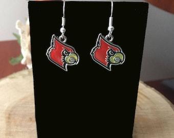 Louisville Cardinal Earrings
