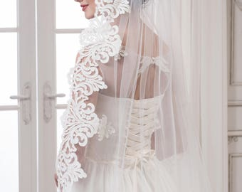 Wedding Cathedral Veil ''Amber''