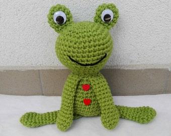 Crochet Frog - Pattern