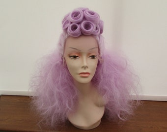 Lilac 'Bettie' Style Lace Front Wig**Ready To Ship**