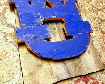 Auburn University Wooden Pallet Hand Painted/Stained Logo