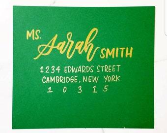 Wedding Calligraphy / Wedding Envelopes / Wedding Envelopes / Wedding Envelope Calligraphy / Envelope Addressing / Wedding