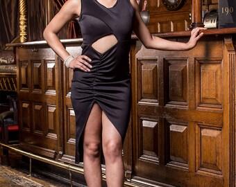 Kendra Black Bodycon Dress