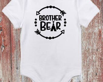 Brother Bear or Sister Bear Infant Bodysuit or Toddler Tshirt