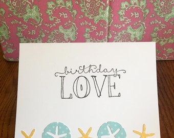 Birthday Love Stationery