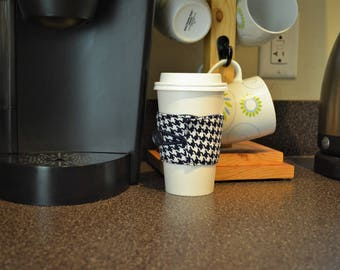 Coffee Cup Sleeve Reversible