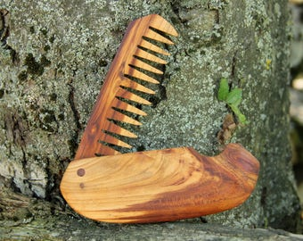 Husband gift|for|boyfriend gift|for|men Gift|for|Brother Hair Comb decorative combs beard grooming Wood comb Wooden comb beard comb