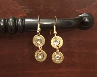 Shot gun shell earrings