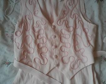 Baby Pink Pantsuit