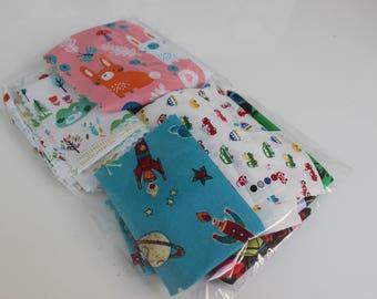 Premium Cotton Fabric Scrap Bags   Fabric Remnants   100g - 200g   Off Cuts