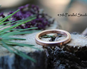 Copper Ring, Thin Copper Ring, Copper Band, Stackable Ring, Ring For Her, Stacking Ring, Copper Jewelry, Arthritis Ring, Wedding Band