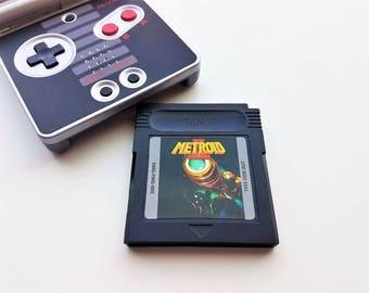Metroid II DX - Nintendo Game Boy (Custom Color Upgrade) Gameboy Samus