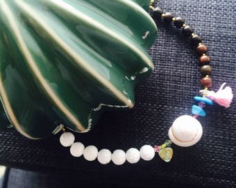 Shell, turquoise and mother of Pearl, mother shell bracelet