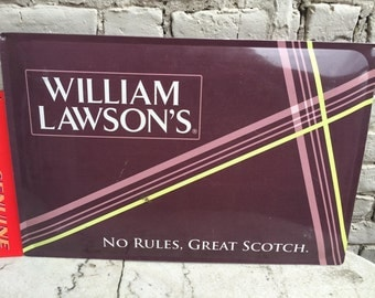 William Lawson's advertising sign