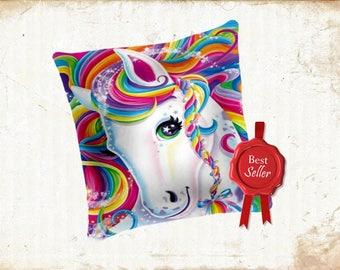 Rainbow Horse Pony Kids Decorative Cushion BESTSELLER