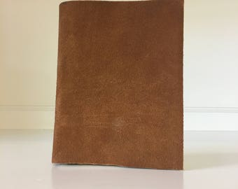 Leather Notebook - Small, Brown