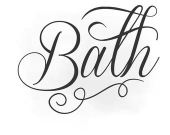 Bathtime art etsy for Bathroom quotes svg