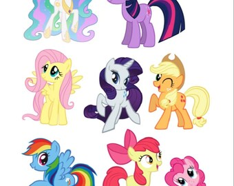 Print and cut My Little Pony Cameo, portrait, curium, silhouette