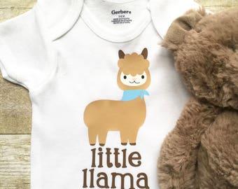 Newborn Onesie, Baby Clothes, Baby Onesie, Funny Baby Onesie, Baby Shower Gift, Newborn Baby Clothes, New Mom Gift, Llama Baby Onesie