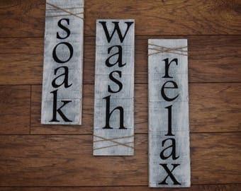 Soak Wash Relax