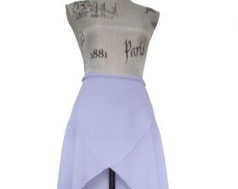 Lavander Ballet Wrap Skirt - Long