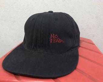 Vintage 90s No Fear Snapback Hat Free Shipping 90s Skateboarding Hat Spell Out hip Hop Hat Summer Hat Dad Hat Made In Usa