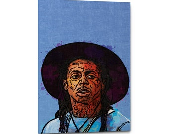 Lil Wayne Canvas Wall Art Print