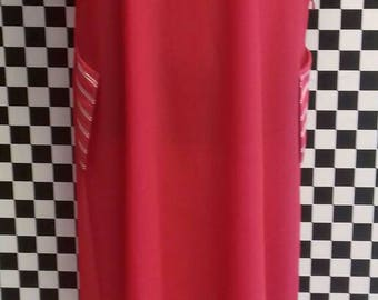 Red vintage dress by St Michael  from the 80's - M/L