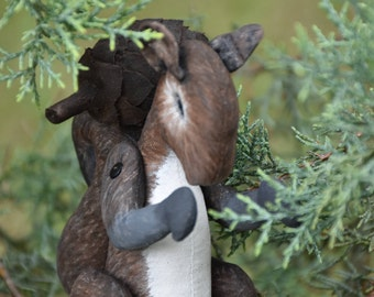 Soft sculpture Squirrel