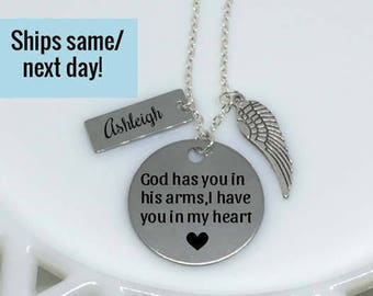 Miscarriage Necklace, Mommy of an Angel, Memorial Jewelry, Memorial Necklace, Miscarriage Jewelry, Memorial Pendant, Loss of a Child