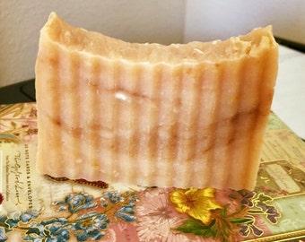 100% Natural Handcrafted Papaya Soap with Aloe Vera