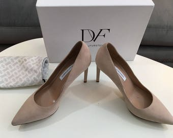 Diane von Furstenberg Madrid Blush Pump