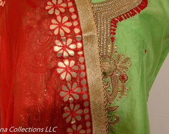 Fully Stitched Bollywood Designer Salwar suit set : FREE shipping in India
