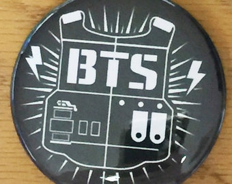 BTS Army-Pinback Button-2.25 inch Custom Pin