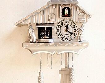 Shabby Chic Cuckoo Clock