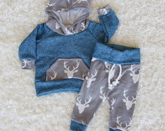 Buck outfit / Baby clothes / baby boy outfit / baby boy clothes / newborn baby boy / newborn baby girl