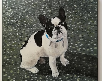 "Painting ""French Bulldog"""