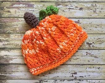 Newborn Halloween Hat, Pumpkin Newborn Set, Newborn Outfit, Newborn Photo Outfit, Newborn Set, Newborn Crochet, Baby Pumpkin Hat, Baby, Hat