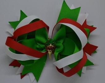 Christmas Ornament - Hiar Bow Clip - 12.5cm