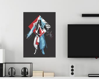 Assassin's Creed Abstract Assassin Wall Decal Officially Licensed by Ubisoft