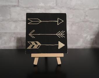 Mini Canvas Art - Arrows