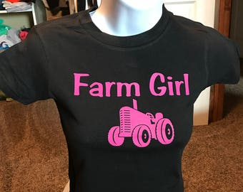 Farm Girl Shirts for youth