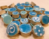 Sky Blue Ceramic Mosaic T...