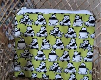 Unusual Panda Zipped Pouch