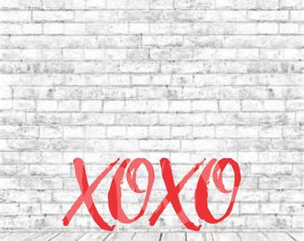 Distressed XOXO, Valentines Design, Xoxo, SVG, DXF, Png, Vinyl Design, Valentine Svg, Xoxo Svg, Love, Vday, Jpg, Vday Svg, Cricut, Cut File